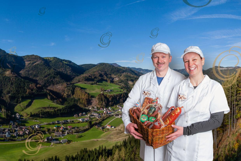Klösch: Göstlinger Landfleisch - Fleischerei/Bauernladen